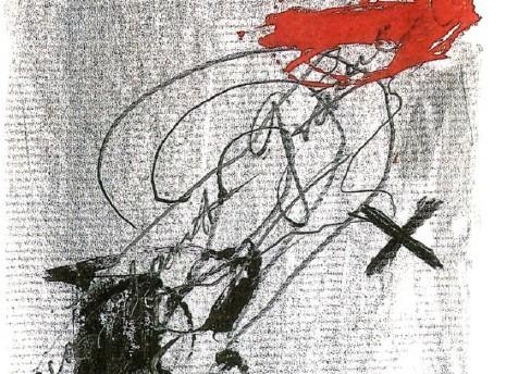 Recordant Gramsci, Antoni Tàpies, 1979