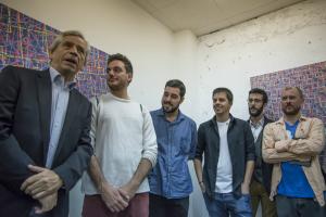 Eduardo Reyes, Gorka Piñol, Joan Vila i Joan Solé