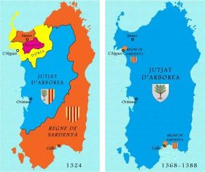 La llarga i sagnant guerra de Sardenya serà un joc de forces que no es decantarà fins a la batalla de Seddori (1409)