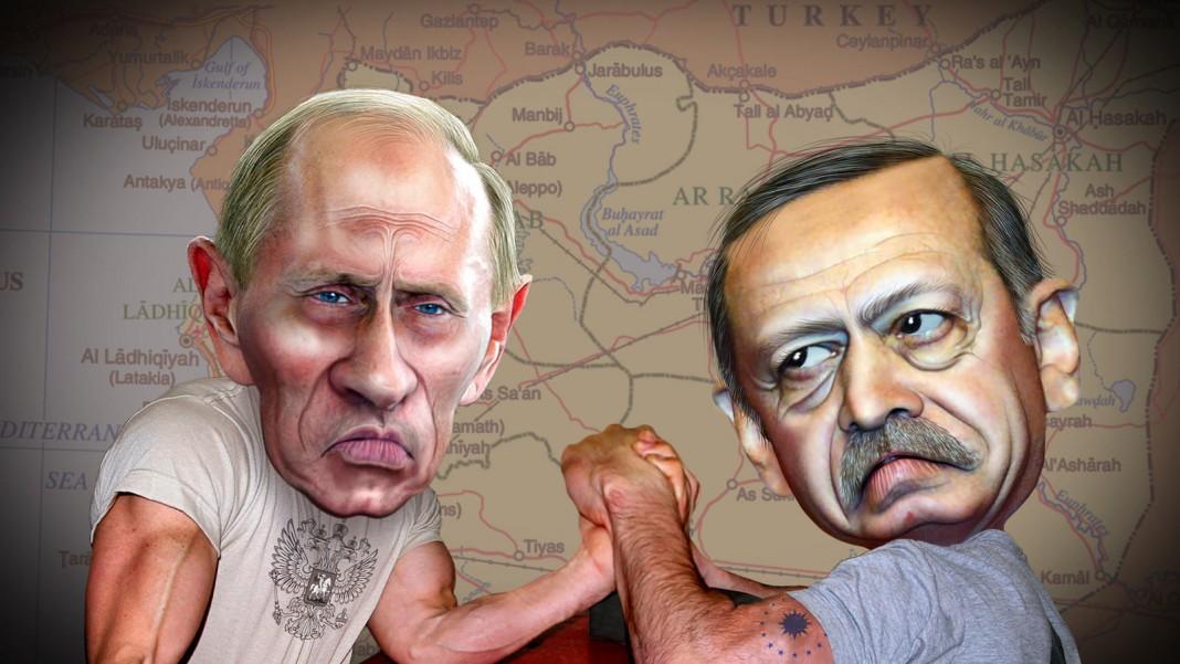 Vladimir Putin i Recep Tayyip Erdogan / DonkeyHotey