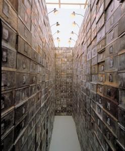 Réserve des suisses mortes - Christian Boltanski, 1991 (Col·lecció MACBA)