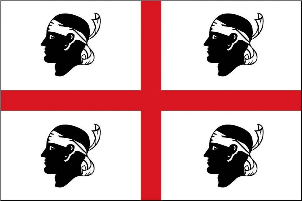 Els Quatre Moros són el símbol més apreciat pels sards, si bé recentment s'ha recuperat l'arbre d'Arborea com a bandera estrictament independentista.