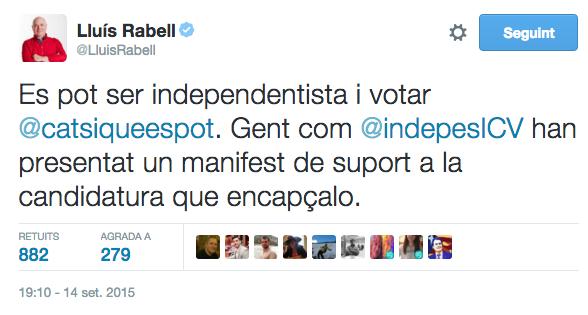 Twitter Lluís Rabell