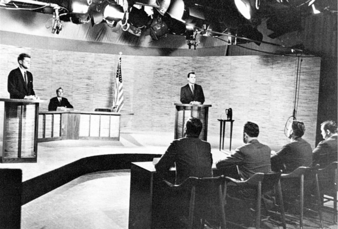 The Kennedy-Nixon debate in 1960 / Dave Winer