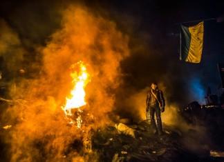 January 25, 2014 in Kiev : Sasha Maksymenko