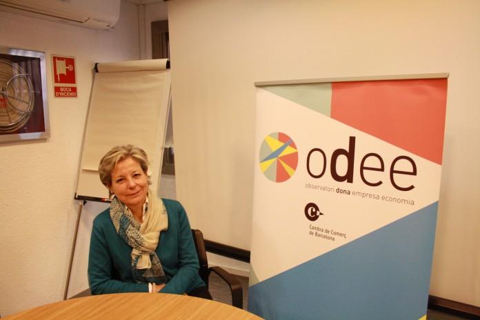 Anna Mercadé és directora de l'Observatori Dona, Empresa i Economia