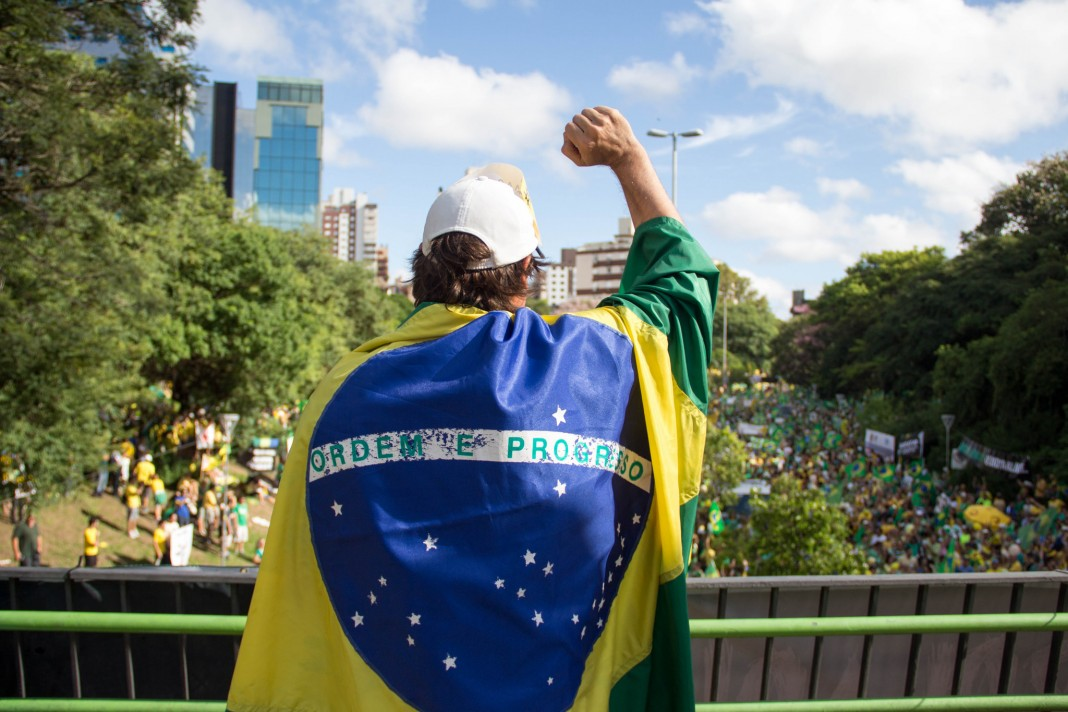 Manifestação contra a presidente Dilma Rousseff / Editorial J