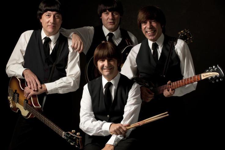Abbey Road caracteritzats com The Beatles – foto: abbeyroadbarcelona