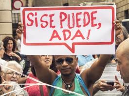 Investidura d'Ada Colau / Marc Lozano
