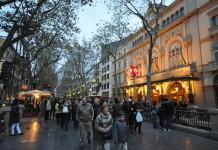 La Rambla street / Jorge Láscar