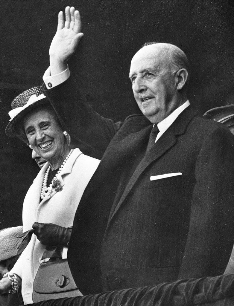 Francisco Franco i Carmen Polo, 1968. Anònim