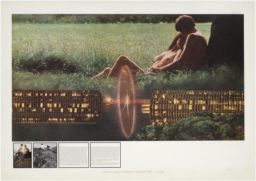 Atti Fondamentali. Amore: la Macchina innamoratrice, 1971 – 1973 Archivio Superstudio © Superstudio