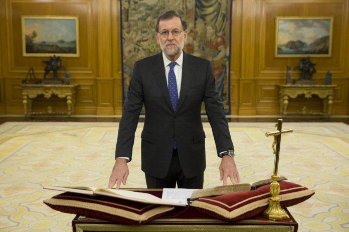 Mariano Rajoy jura el cargo de presidente del Gobierno / La Moncloa