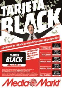 Tarjeta black