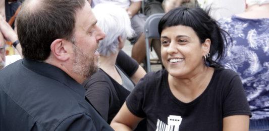 Oriol Junqueras i Ana Gabriel / ACN