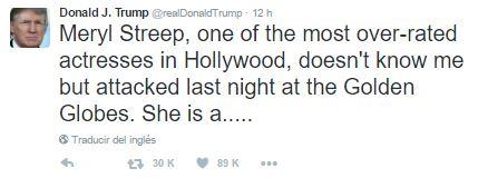 ¿Meryl Streep sobrevalorada? Sigue soñando