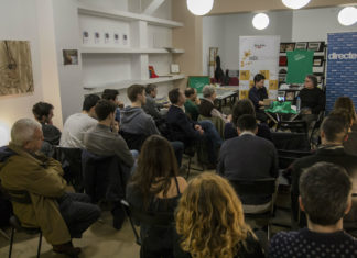 Joan Tardà a l'espai AnGram / Lau Vila
