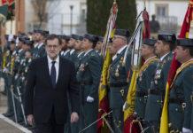 Rajoy asiste a la jura de bandera de la Guardia Civil / La Moncloa