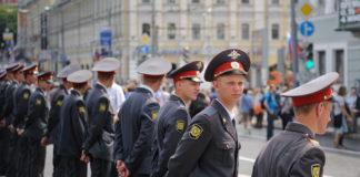 A police cordon / Evgeniy Isaev