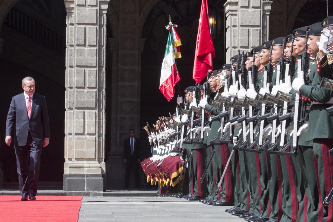 Visita de Estado del señor Recep Tayyip Erdogan, Presidente de la República de Turquía / Presidencia de la República Mexicana
