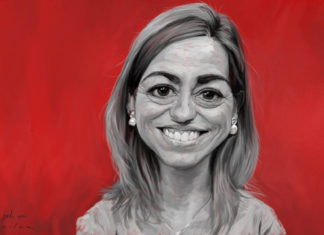Carme Chacón, per JordiMinguell.com