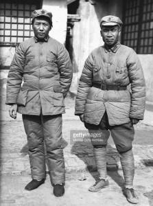Mao Tse tung i Zhu De creador de l'Exèrcit Roig xinès. Font Pinterest.