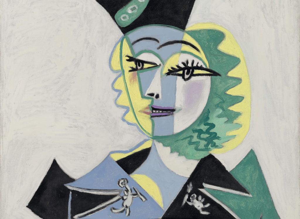 Pablo Picasso, Retrat de Nusch Èluard, 1937