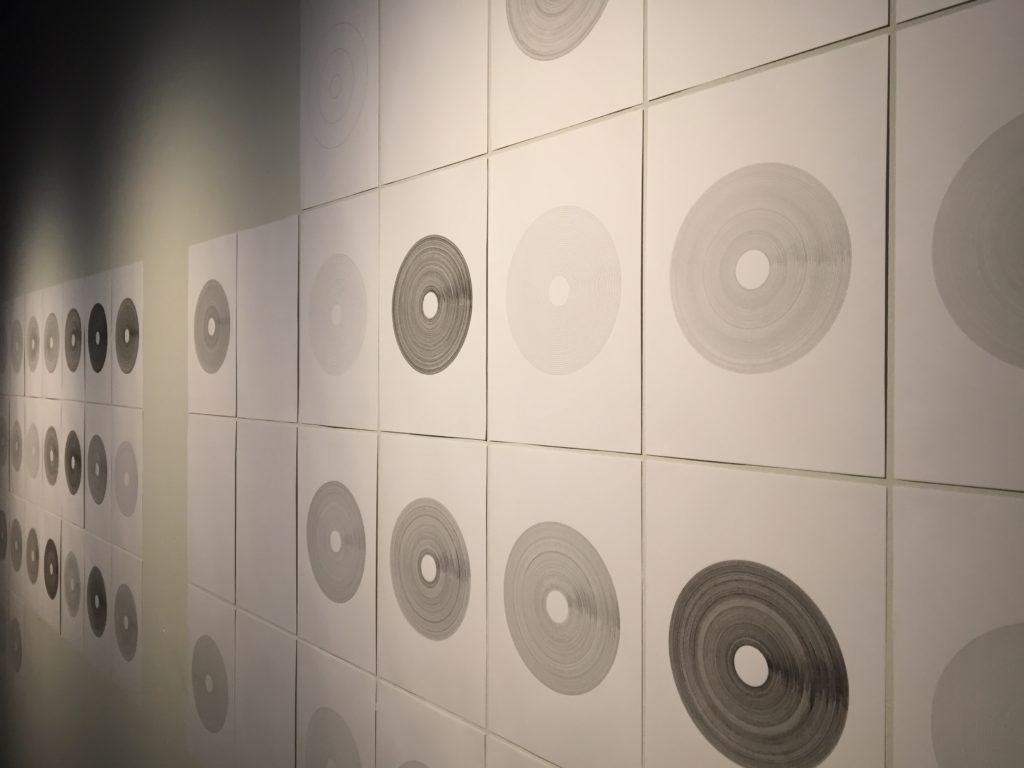 Detall de l'obra d'Alberto Gil a Ciutat Subterrània 04 (CCCB)