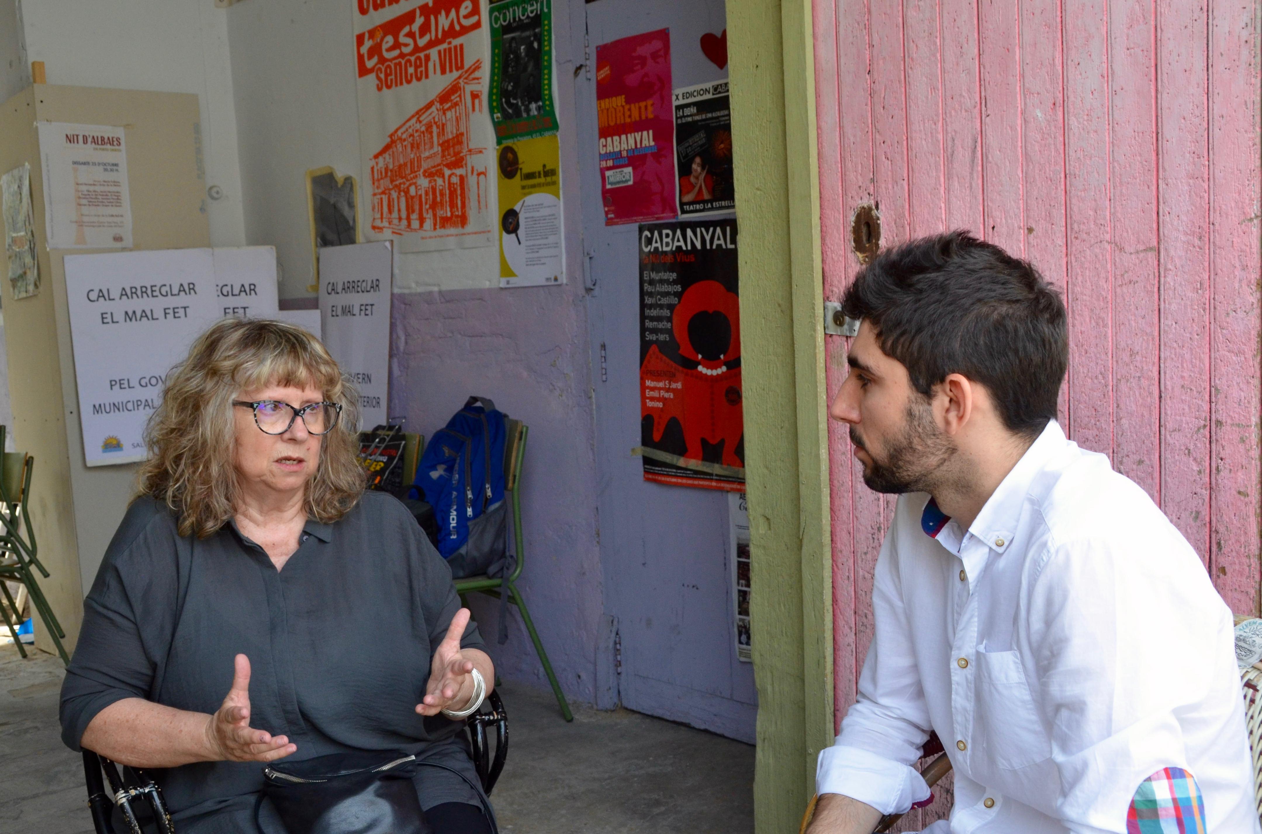 Entrevista a Maribel Domènech, portaveu de Salvem el Cabanyal