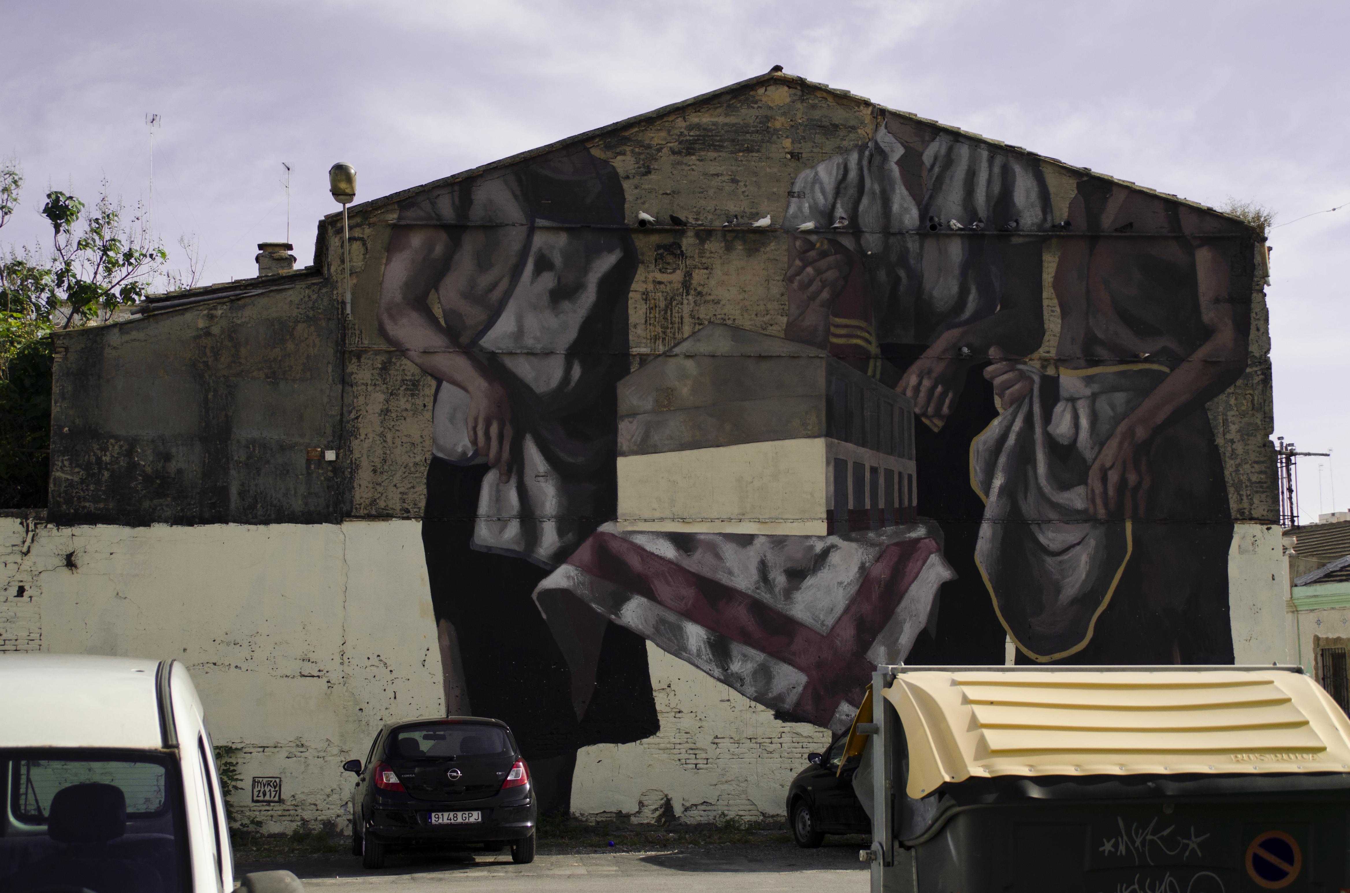 Mural al barri d'El Cabanyal