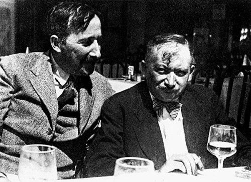 Stefan Zweig i Joseph Roth, 1936