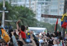 Pope's visit to Rio. JMJ 2013. Copacabana / Leandro Neumann Ciuffo