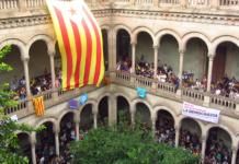 Els universitaris ocupen la UB