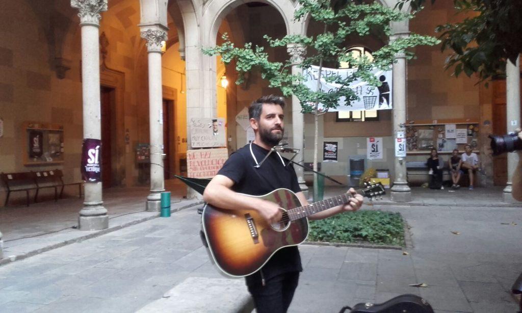 Joan Dausà a la Universitat de Barcelona