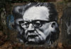 Salvador Allende Gossens, painted portrait / thierry ehrmann