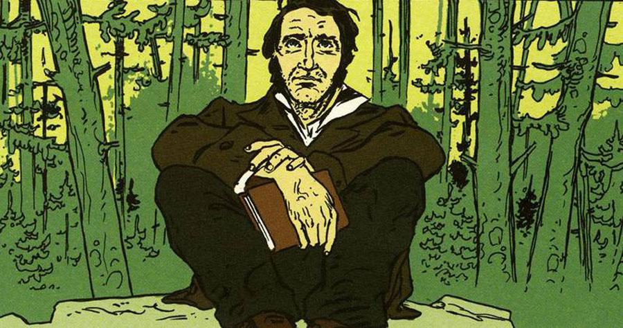 Detalle Thoreau, La vida sublime