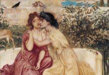Safo i Erinne (Solomon, 1880)