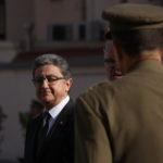 El delegat del govern espanyol a Catalunya, Enric Millo, en un acte militar a la caserna del Bruc de Barcelona / ACN