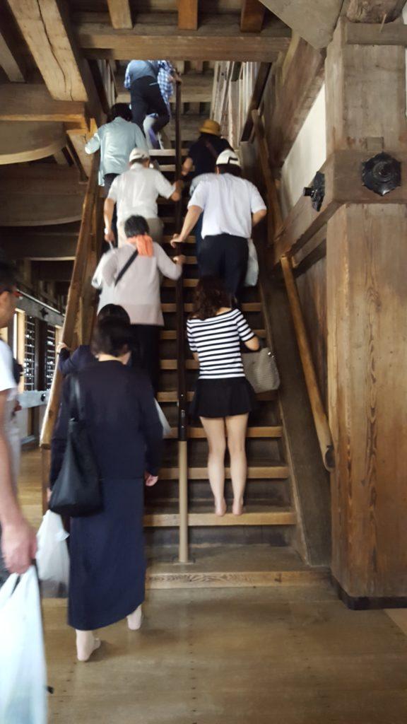 Escales per pujar de planta en planta