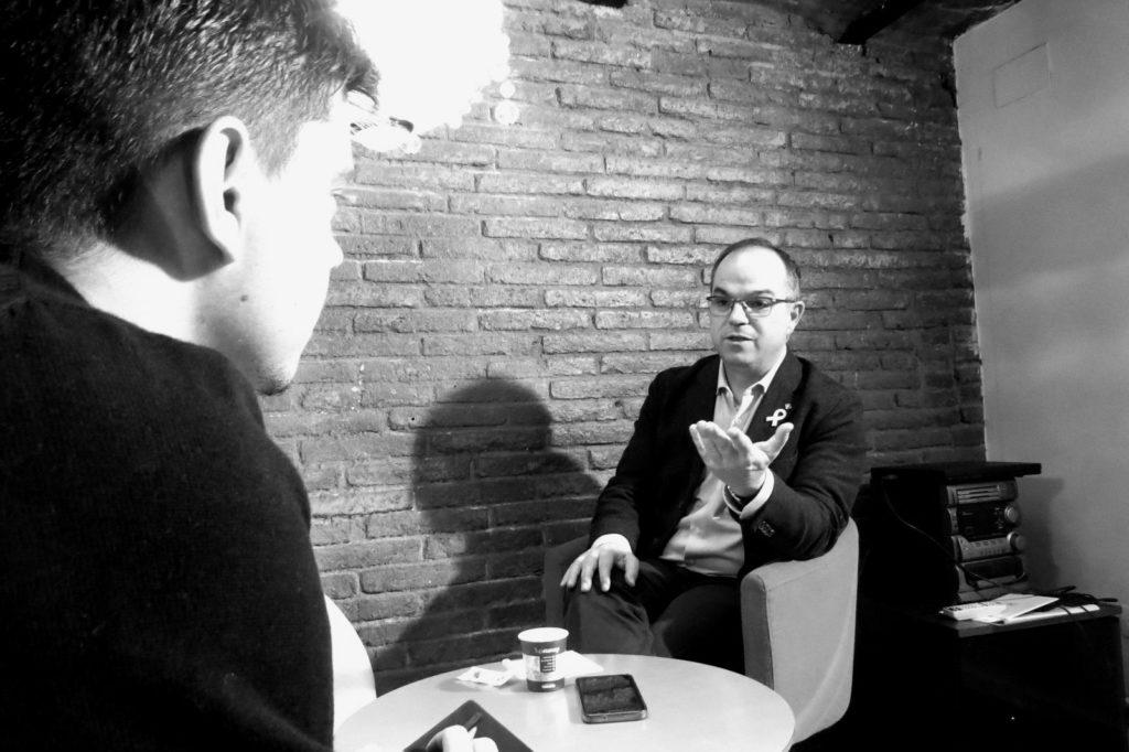 Jordi Turull i Joan Solé / Marina Bou
