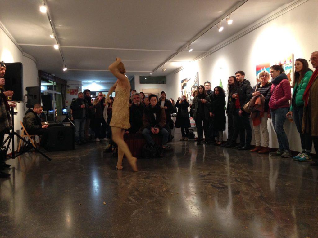 Performance de Carlota Carvajal