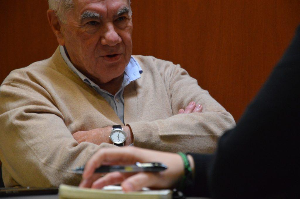 Ernest Maragall al Parlament de Catalunya / Marina Bou