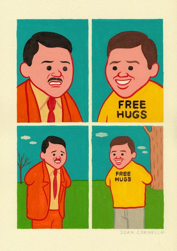 Free Hugs - Joan Cornellà