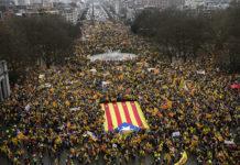 Manifestació a Brusel·les / Fotografia de Roser Vilallonga