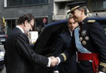 Rajoy amb Felip VI / La Moncloa - Gobierno de España