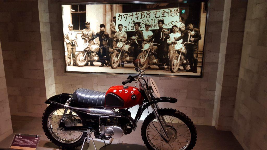 Model antic de motocicleta