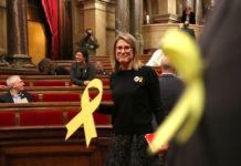 Elsa Artadi (JxCat), abans de votar la presidència de la Mesa del Parlament / Elisenda Rosanas