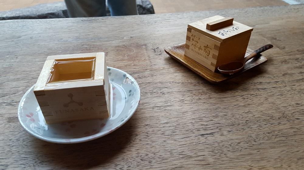 Caixa masu amb sake