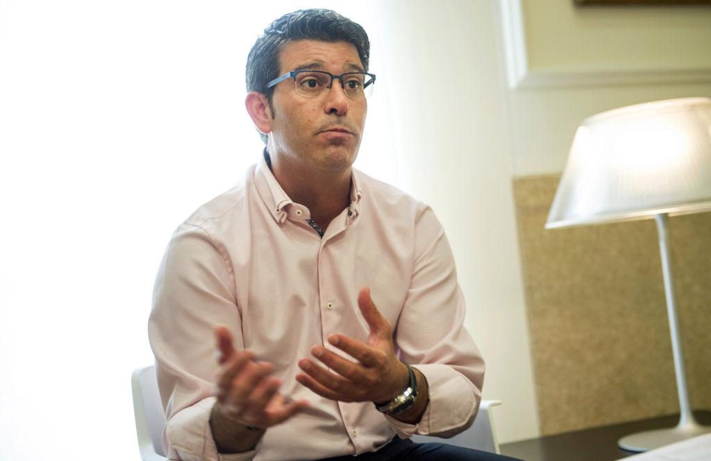 Jorge Rodríguez al seu despatx //Albulaila