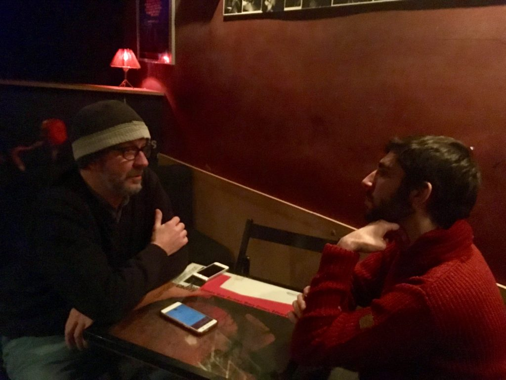 Jordi Sarrión entrevista a Chevi Martínez